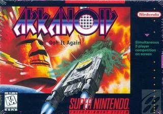 Arkanoid – Do It Again (SNES)   Video game, Game e Jogo