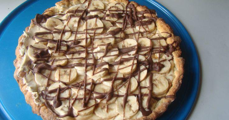 Fabulosa receta para Tarta Banana Split.