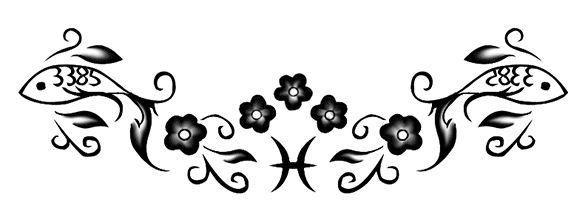 Zodiac Tattoo Designs: Pisces | MadSCAR