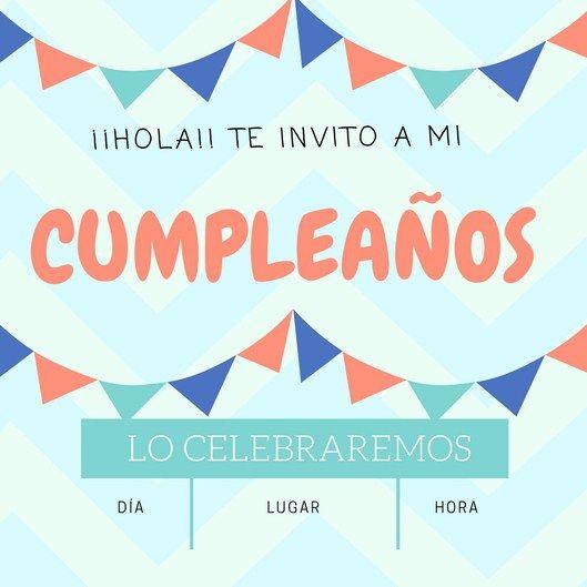 invitaciones de cumpleaños gratis