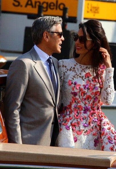 Amal Clooney Photos - Introducing Mr. & Mrs. Clooney - Zimbio