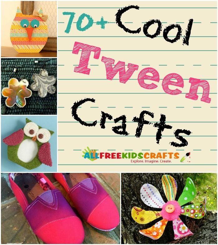 Cool crafts for tweens 100 tween crafts for middle for Projects for tweens