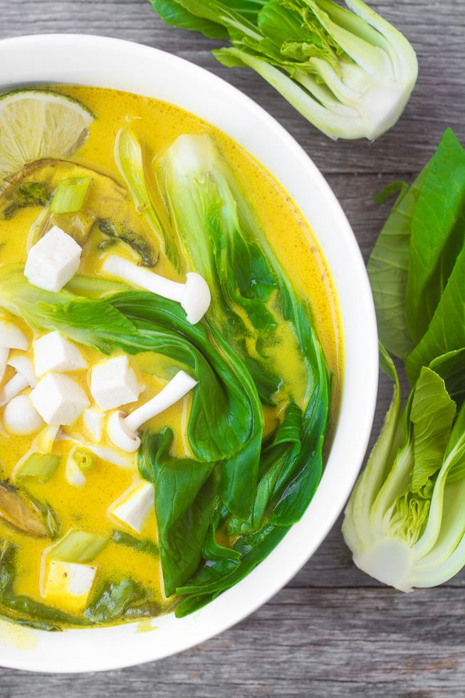 Radiant Bok Choy ~ a healthy vibrant soup featuring two nutritional rockstars! ~ theviewfrombreatisland.com