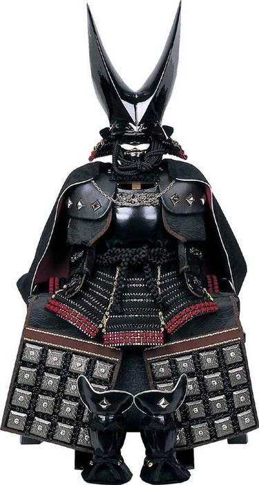 日本の甲冑は世界一美しい。  蒲生氏郷