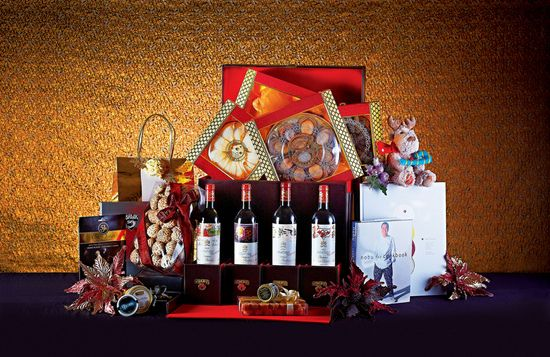 Holiday gifting: Luxe Christmas hampers