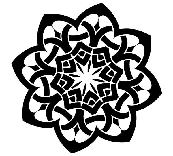 Celtic Knot Vector | Free Vector Graphics | Vector Art Designs