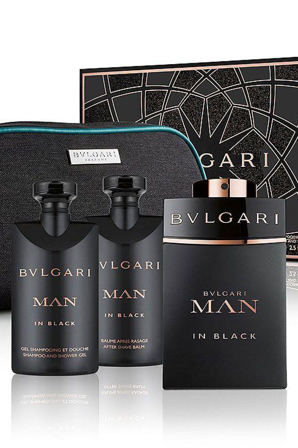 Bvlgari Man In Black Gift Set 3 4 Oz Eau De Parfum Spray 2 5 Oz After Shave Balm 2 5 Oz Shower Gel F In 2020 Bvlgari Fragrance Cologne Gifts Bvlgari Man In Black