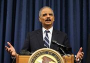 U.S. Attorney General Eric Holder and the Justice Department stepped into a firestorm of controversy today, delivering a scathing review of the Cleveland Police Department's use-of-force policies and practices, and recommending sweeping reforms at the department.