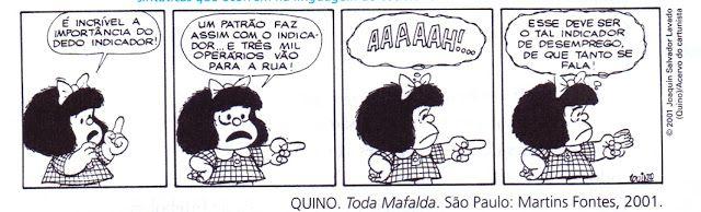 Atividades de Português, Literatura e Redação: Atividade com tirinha da Mafalda | Ordem direta e ...