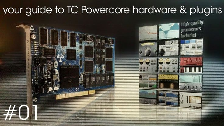 your guide to TC Powercore hardware and plugins - #01
