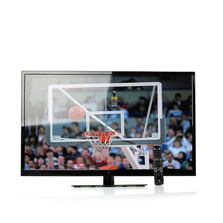 """GPX 42"""" 4K Ultra HD DLED TV with Built-In DVD Player"""