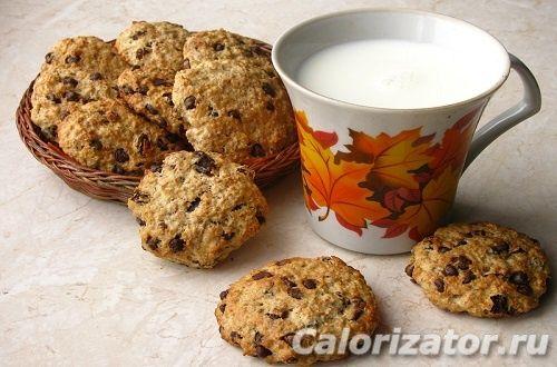 Печенье для пп (правильного питания) - калорийность, состав, описание - www.calorizator.ru