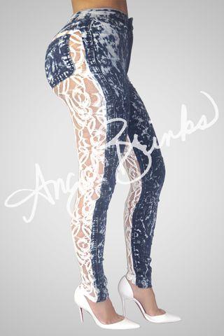 Sinister Jeans (Alarming) | Shop Angel Brinks on Angel Brinks