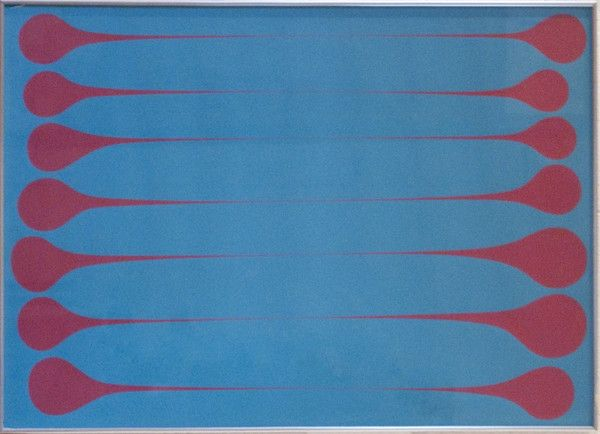 Harold Town, Blue Raspberry Stretch, 1971