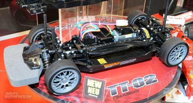 Tamiya TT02 announced in Nuremberg International Toy Fair 2013!
