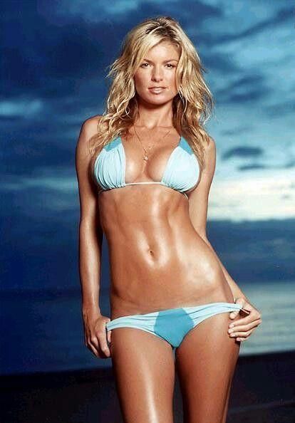 Marisa miller  Blue bikini