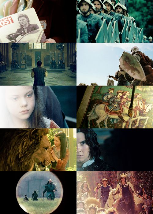 The Chronicles of Narnia: Prince Caspian- my favourite of the three films. I really love the somewhat Spanish influence of the Telmarines.