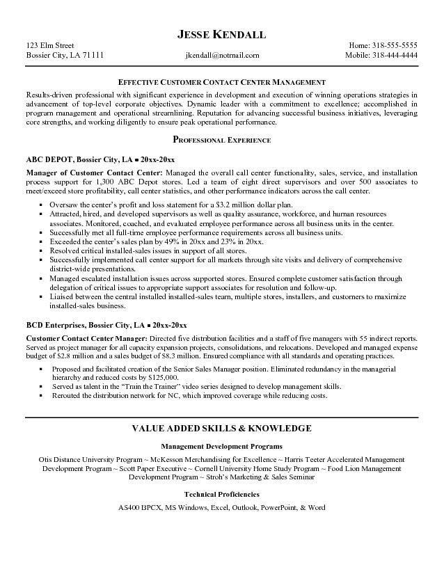 Call Center | resume examples | Pinterest | Sample resume, Resume ...