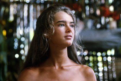 """The Blue Lagoon"" Brooke Shields 1980 Columbia"