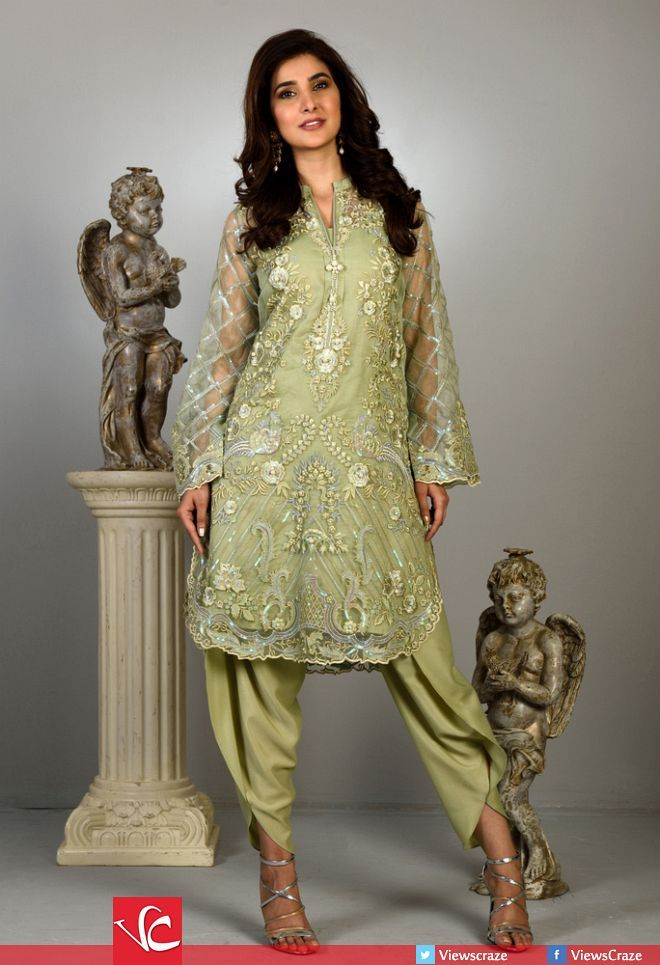 Wardha Saleem's Eid Collection 2016