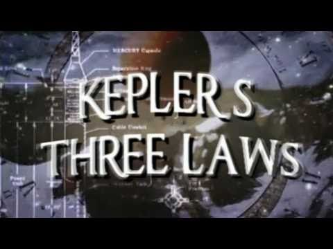 Kepler's Three laws of orbital motion - Fascinating! - YouTube