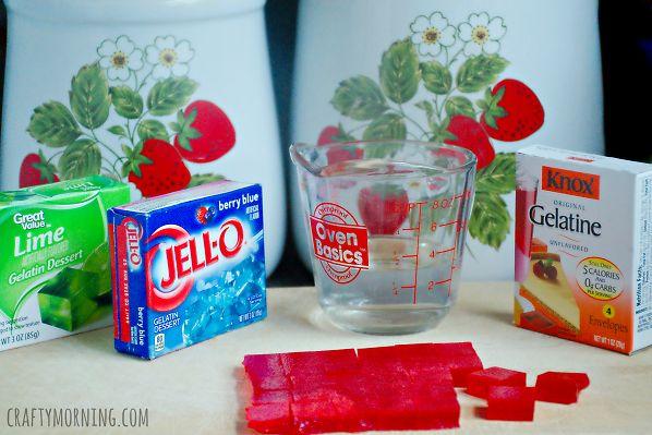 jello gummies recipe