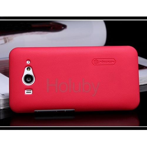 Protective Ultrathin Frosted Shield Back Cover PC Hard Case for Xiaomi MI2 (Red)