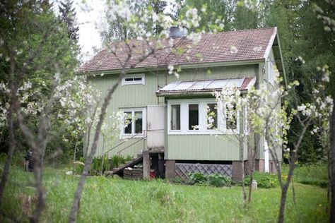 rintamamiestalo  blogista vihreä talo