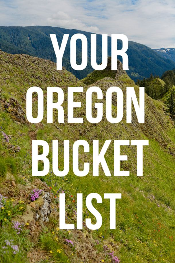 The Ultimate Oregon Bucket List - The Best Things to Do in Oregon | Cool places to visit, Oregon travel, Oregon road trip