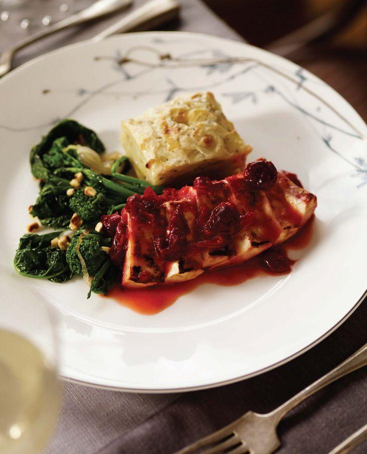 VHCC Braised Cranberry-Orange Tofu image p 135