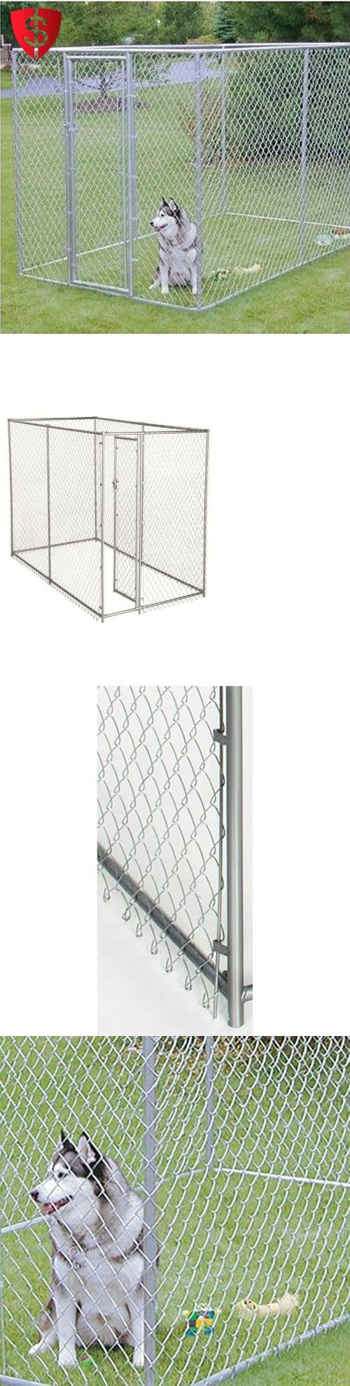 1000 ideas about outdoor dog kennels on pinterest dog for Dog run fence home depot