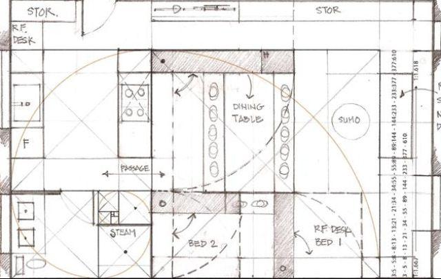 Golden ratio home design | Golden Ratio/Fractal | Pinterest | Golden ratio