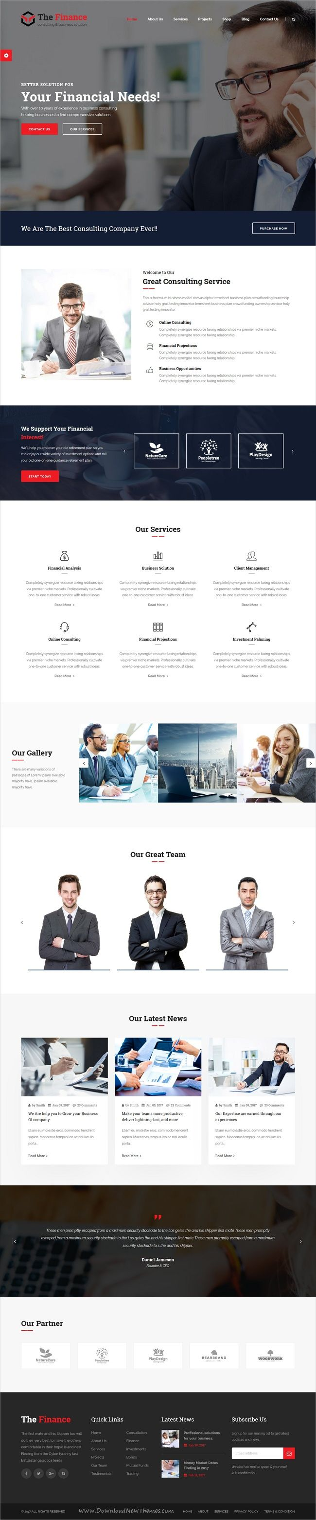 The finance is clean and modern design 3in1 #bootstrap template for #finance business #consulting and professional service website download now > https://themeforest.net/item/the-finance-business-consulting-and-professional-services-html-template/19956712?ref=Datasata