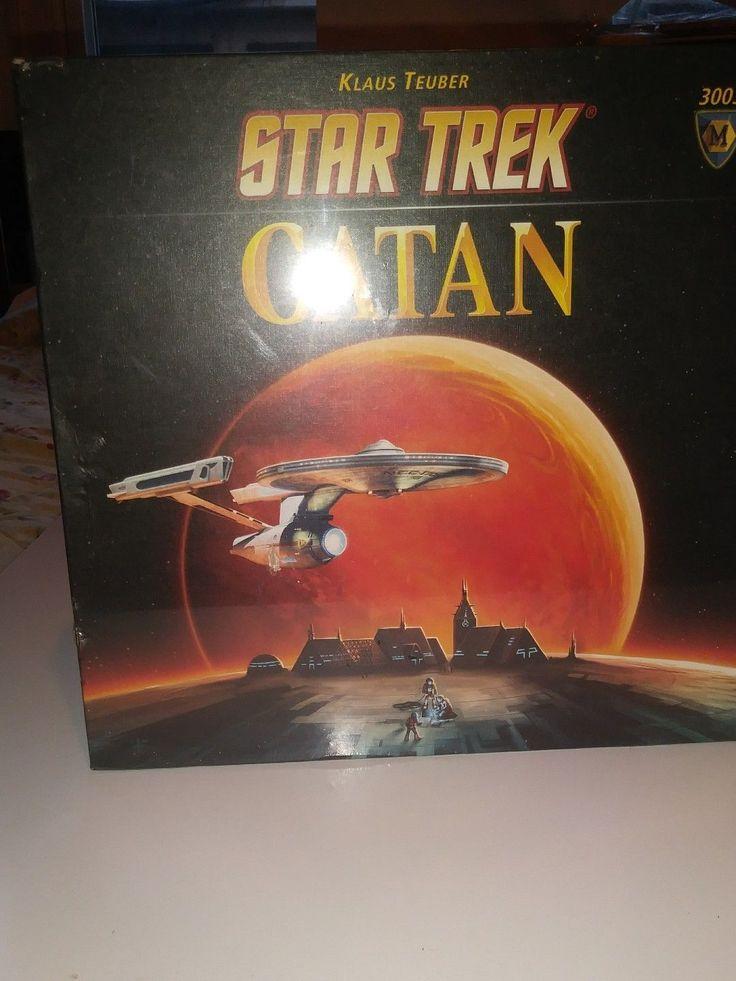 STAR TREK Settlers of Catan Board Game Mayfair BRAND NEW