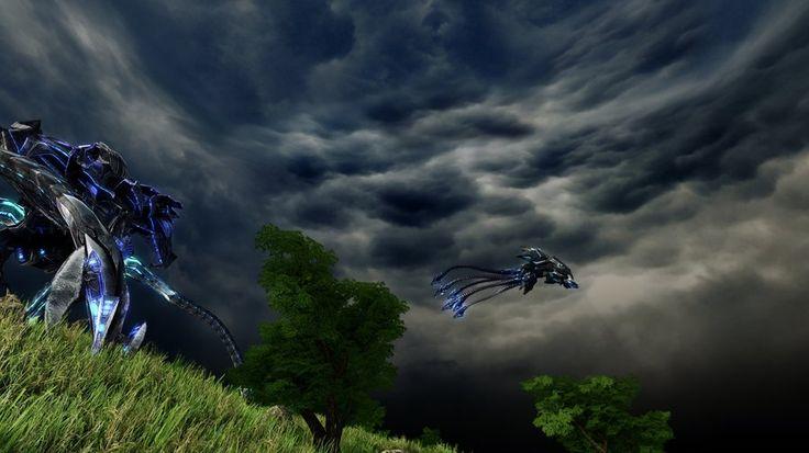 Crysis-alien+skybox 2 by Tomyum72.deviantart.com on @DeviantArt