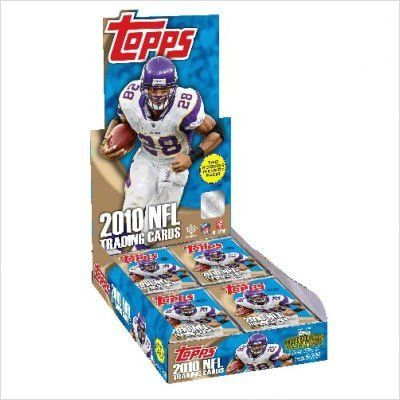 NFL 2010 Topps Hobby (36 packs) by Topps. $49.98. Topps Football takes the field for 2010.  Featuring 110 Rookies appearing for the first time in a Topps product in their new NFL uniforms along with NEW! NFL Draft 75th Anniversary, 1952 Bowman, and Red Zone Rookie cards, Topps Football leads the league! INTRODUCING GRIDIRON GIVEAWAY  - a brand new in-pack promotion that will create buzz, increase consumer demand and stimulate take-away! Consumers can win ORIGINAL vintage Topps...