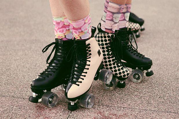Exclusivo. Urbano. Cool. Roller Joy é um patins que traz a assinatura da Melissa. E você, vem?