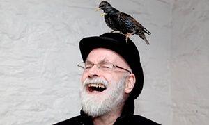 'We would sing loudly, joyfully, the wildlife fleeing before us': Terry Pratchett.