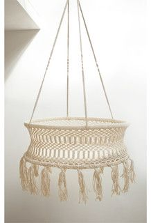 Fair Trade Hanging Cradle   Contemporary   Baby Swings And Bouncers   By  Fine Little