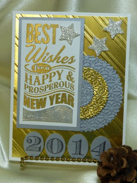 Happy New Year 2014 #stampinup