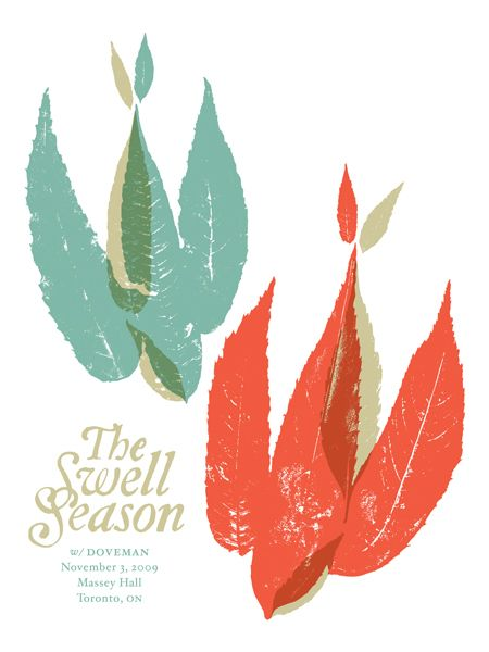 GigPosters.com - Swell Season, The - Doveman by Doublenaut