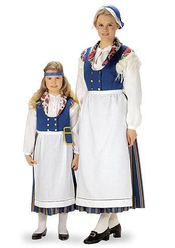 Folk costumes of Munsala, Finland