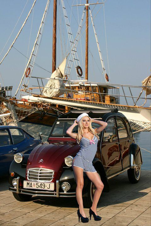 414 best images about 2cv and girls on pinterest
