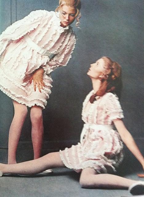 Bill Blass babydoll dress 1968