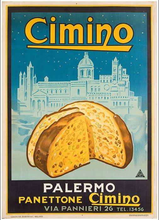 Panettone Cimino, Palermo, 1931.