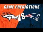 cool That's Good Broncos: Denver Broncos vs New England Patriots Predictions -- (this guy is a Broncos fan but he cracks me up)