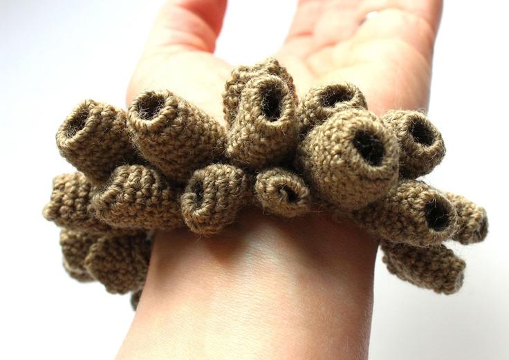 Julia Wright crochet bracelet