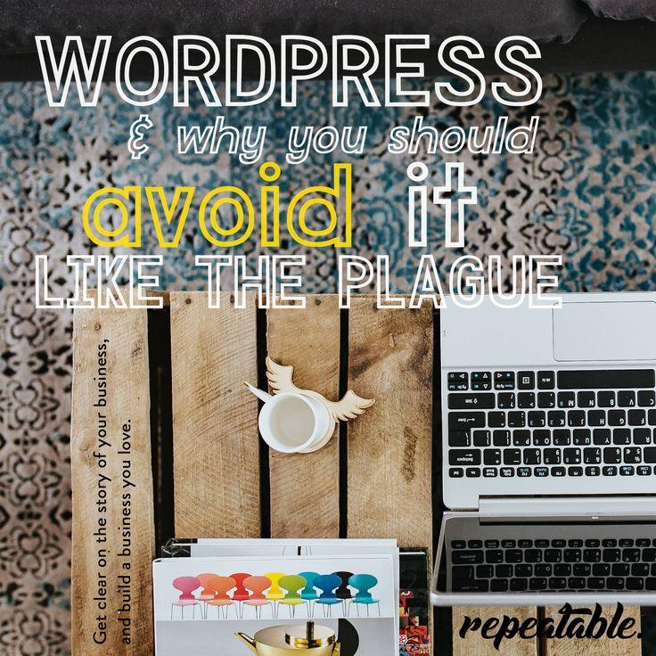 Why Avoid Wordpress Like the Plague...?