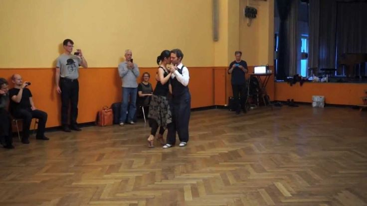 Milonga with crosses and double-time | michelle + joachim
