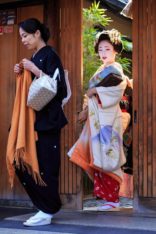 Famosa geisha de kyoto
